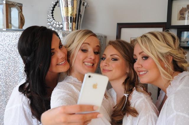 the liverpool wedding blog Bridesmaids