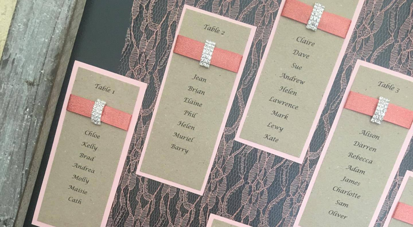 Seating Plan Liverpool Wedding Blog Hartiescraft