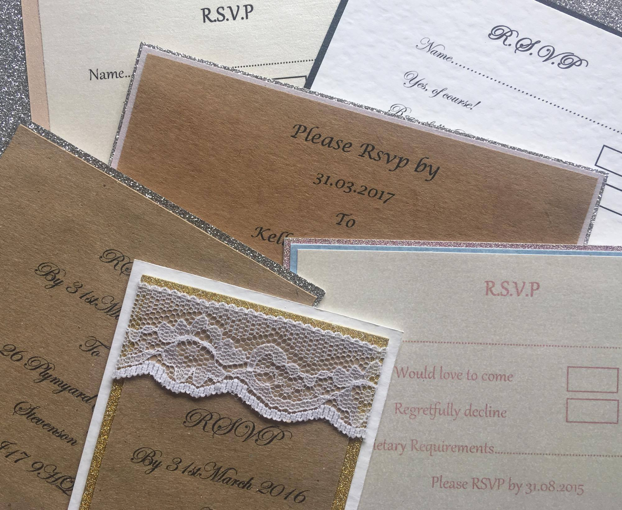 Liverpool Wedding Blog RSVP Hartiescraft