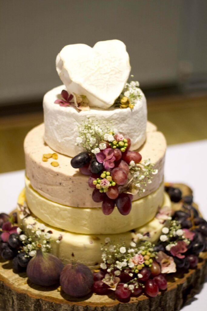 Liverpool Cheese Wedding cake
