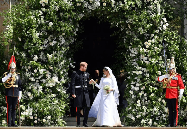 Royal wedding flowers