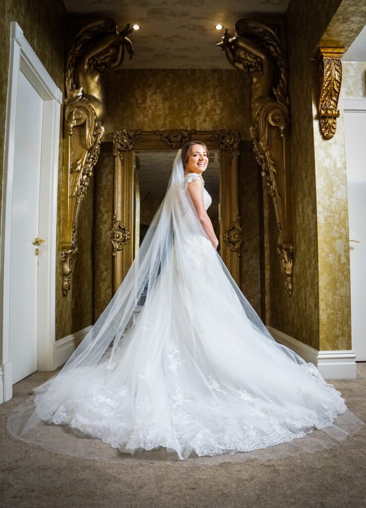 Bride at The Shankly Hotel Liverpool