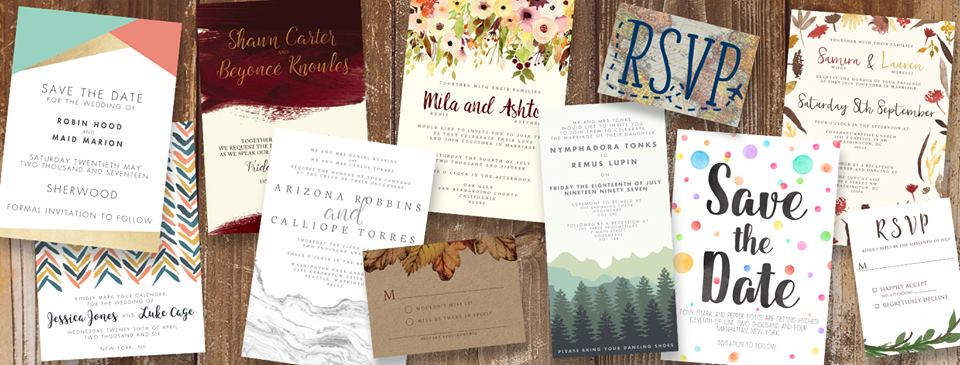 Wedding Stationery by Hawthorne and Ivy